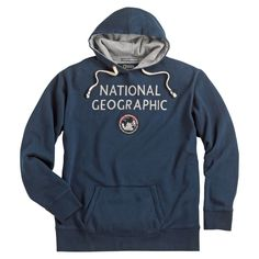 National Geographic Logo Hoodie   National Geographic Store