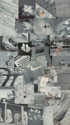 Grey Wallpaper Iphone, Iphone Wallpaper Tumblr Aesthetic, Retro Wallpaper, Aesthetic Pastel Wallpaper, Aesthetic Backgrounds, Galaxy Wallpaper, Aesthetic Wallpapers, Grid Wallpaper, Glitter Wallpaper