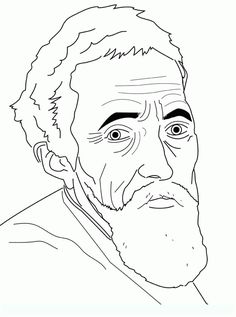 michelangelo coloring pages coloring sheets