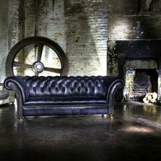 An Old Boot Twist on traditional Interior Design with our vintage Chesterfield Sofas Chesterfield Sofas, Old Boots, Traditional Interior, Factors, Couch, Interior Design, Furniture, Vintage, Home Decor