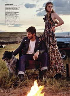 west dressed: florence kosky and austin stowell by victor demarchelier for us glamour october 2015   visual optimism; fashion editorials, shows, campaigns & more!