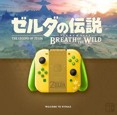 Joy Con Zelda The Breath Of The Wild. If U like it, follow me on Twitter ! joycon, nintendo switch, dock, joy-con
