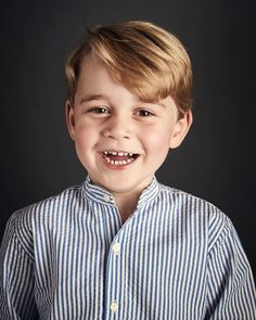 """21.1k Likes, 414 Comments - Kensington Palace (@kensingtonroyal) on Instagram: """"The Duke and Duchess are delighted to share a new official portrait of Prince George to mark His…"""""""
