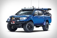 Inspired by the off-roaders that pre-run stages of desert races, the Mitsubishi L200 Desert Warrior takes a production truck and turns it into a capable runner. It was built in conjunction with Top Gear magazine and engineer Ralph Hosier of...