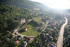 #HotelElbrus - widok z paralotni. #kocham góry www.hotel-elbrus.pl