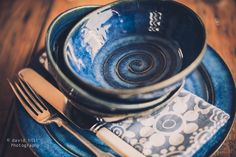 """How You Shot It: Pottery Product Shoot """"Blue Bowls"""" - Image By David Hill"""