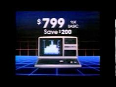 TRS-80 Model 3 Computer Commercial 80's Radio Shack - YouTube