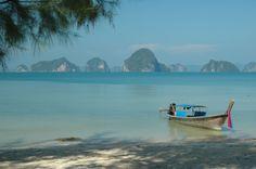 Playa en la zona de Krabi