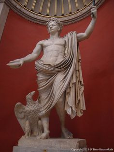 Statue of the Roman Emperor Claudius, Vatican Museum