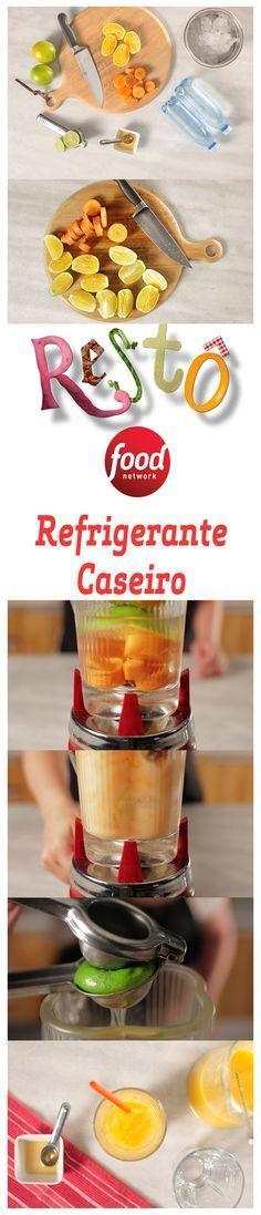 Esta receita de Refrigerante Caseiro é super rápida e simples. Ela é feita com ingredientes que fazem muito bem ao seu organismo: laranjas e cenouras com casca, e ainda leva um toque de mel para adoçar. Experimente na sua casa e se surpreenda com o resultado!