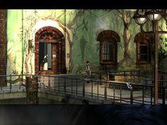 The Border House (The Longest Journey) - Victory Hotel (Dreamfall:The Longest Journey) Room April Ryan (The Longest Journey) - Room 201 (Dreamfall:The Longest Journey) The Longest Journey, Young Art, Her World, Game Design, Magick, Game Art, The Darkest, Concept Art, Explore