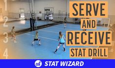 Using stats during practice is a great way to keep players accountable with every touch on the ball! Coaches, use this serve and receive stat drill which reinforces the importance of each contact. Serves are ranked on a 0-4 scale, passes are ranked on a 0-3 scale. Players are responsible for putting their scores on the whiteboard after the coach calls it out. Watch the video to see how the drill works in action!