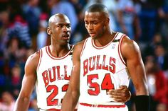 Michael Jordan and Horace Grant