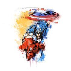 superpuppet:   Captain America! I'm going to be... - Rebun