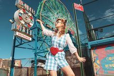 Coney Island, Ferris Wheel, Fair Grounds, York, Photo And Video, Summer, Instagram, Style, Fashion