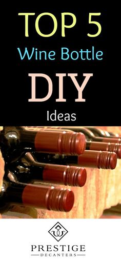 Searching for some DIY wine bottle and liquor bottle ideas to make a statement in your home or yard? Your inspiration begins here! Keep reading for a project that could be exactly what you had in mind for your front porch, back deck, home bar, kitchen, or sunroom! #DIY #winebottles #wine #DIYideas