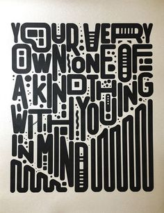 """""""Your very own, one-of-a-kind thing…with you in mind"""" by Kingdom Industry"""
