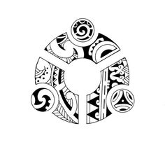 Maori Tribal Drawings | Maori ring tribal by TravTheMad