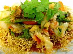 Recette Nid d'amour aux crevettes / Nid d'oiseau vietnamien