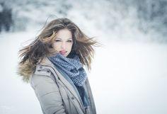 aus einem Schneeshooting mit Janina
