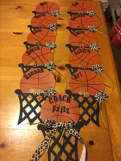 Basketball player locker decoration