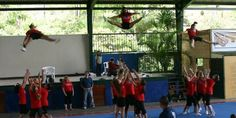 Such a helpful list! The complete list of basket tosses and variations (with videos) - kateboydcheerleading.com