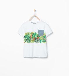 ZARA - KIDS - Tropical T-shirt