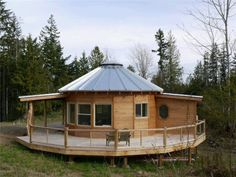 Yurt - outdoor space ideas