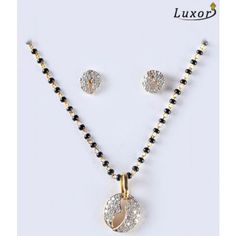 Alluring Diamond Studded Mangalsutra by Luxor 1622 Indian Wedding Jewelry, Indian Jewelry, Bridal Jewelry, Beaded Jewelry, Diamond Mangalsutra, Gold Mangalsutra Designs, Indian Jewellery Design, Jewelry Design, Siri