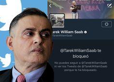 Sobrino de Tareck denuncia que su tío lo bloqueó en el twitter