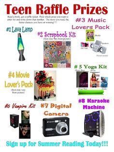 inexpensive raffle prizes