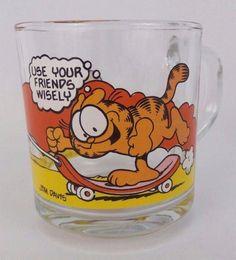 """Garfield Baby /""""Garfield /& Odie/"""" Baby Fork /& Spoon Utensil Set NEW IN PACKAGE!"""