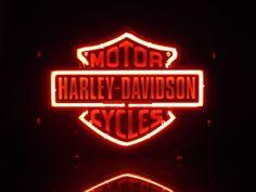 harley davidson skull neon light sign