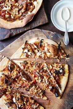 Lamb flatbreads by John Whaite Lamb Flatbreads, John Whaite, Wood Oven, Food Design, Cheesesteak, Vegetable Pizza, Ethnic Recipes, Photos, Photography