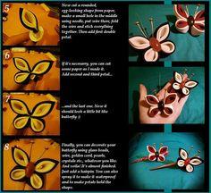 Kanzashi Butterfly Part 3