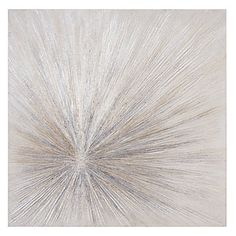 """zgallerie-Hand-painted gallery wrapped canvas with glitter embelishments and visible texture. hand-painted or giclee prints on canvas, gallery wrapped around stretcher bars for a clean finish. Champagne Fire 36""""W x 36""""H and 30""""W x 30""""H"""