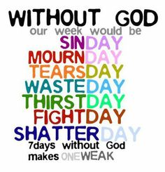 Without God...