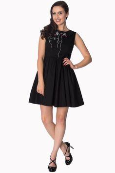 Šaty Kitty, černé