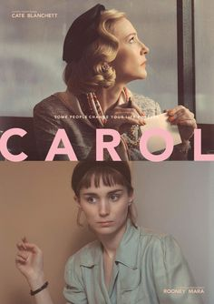 Creative Carol and Poster image ideas & inspiration on Designspiration Book Posters, Cinema Posters, Movie Posters, Cate Blanchett, Patricia Highsmith, Fritz Lang, Rooney Mara, Poster Layout, Fan Art