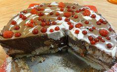 Nepečený dort s ovocem | recept. Nepečené tvarohové dorty jsou v létě vítaným sladkým zákuskem. V parnech není chuť n