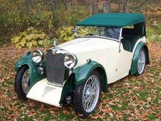 1933 MG J1 Sports Tourer Vintage Sports Cars, British Sports Cars, Vintage Cars, Antique Cars, Cool Old Cars, Mg Cars, Vintage Bicycles, Sport Cars, Cars For Sale