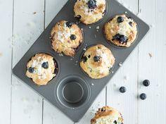 Blaubeer-Muffins wie aus dem Coffeeshop