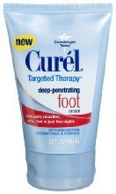 Curel Targeted Therapy Deep-penetrating Foot Cream 35-ounce Tube from Curel at the Crack Heel -   £6.14 - http://crackheel.com/curel-targeted-therapy-deep-penetrating-foot-cream-35-ounce-tube/