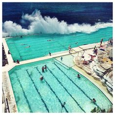 making a splash in sydney // bondi Oh The Places You'll Go, Places To Travel, Travel Destinations, Places To Visit, Around The World In 80 Days, Around The Worlds, Hello Australia, Bondi Icebergs, Rivers And Roads