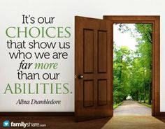 """The small day-to-day choices we make can have a huge impact on our happiness and spiritual well-being. """"Choose you this day whom ye will serve . . . b..."""