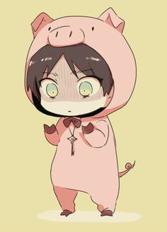 chibi Eren | Attack on Titan