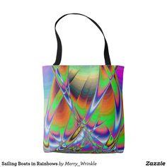 Sailing Boats in Rainbows