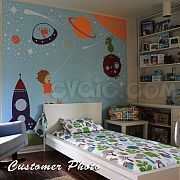 Outer Space Wall Decals Astronaut and Spaceship – evgie