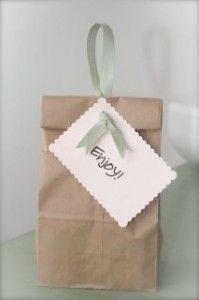 Paperbag packaging .. christmas cookie packaging