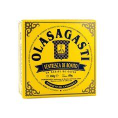 Ventresca de bonito del Cantabrico en aceite virgen extra 260 gr. OLASAGASTI